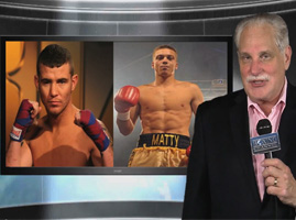 Al Bernstein says the fight between Dickinson and Clarkson represents the best in boxing
