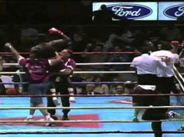 K.O. Vault -Lonnie Bradley vs Dario Victor Galindez – July 15, 1995 Great Western Forum.