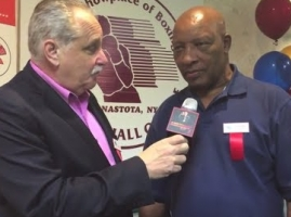 Legendary referee Richard Steele talks about his career and being inducted to the hall of fame