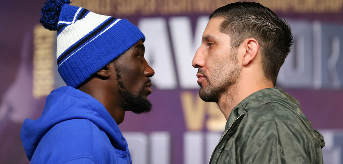 Crawford vs Molina Weigh in Livestream