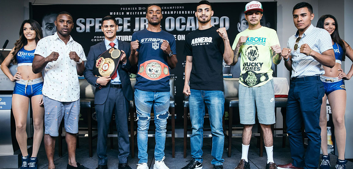 Errol Spence Jr. vs. Carlos Ocampo Weigh-in