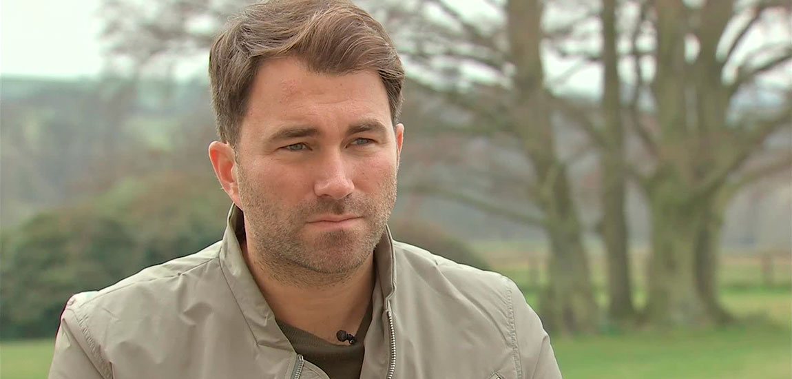 Eddie Hearn 2016 Promoter of the Year
