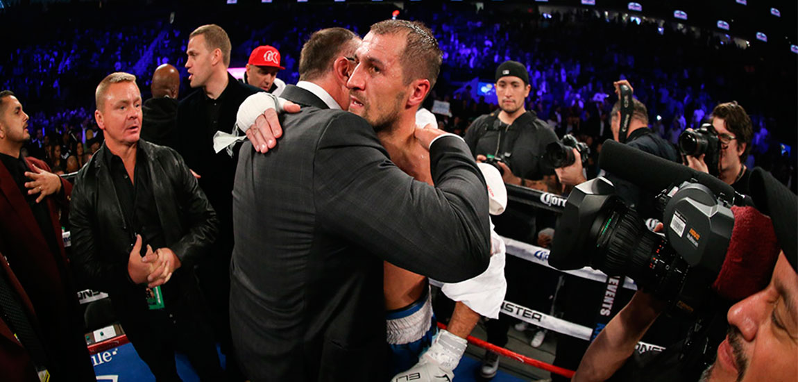 """Kovalev Post Fight """"I Gained Experience This Fight"""""""