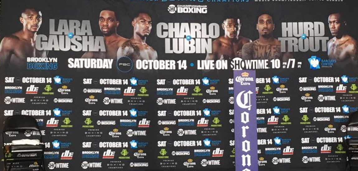 LiveStream Barclays Center Weigh-Ins for Saturday's Fights