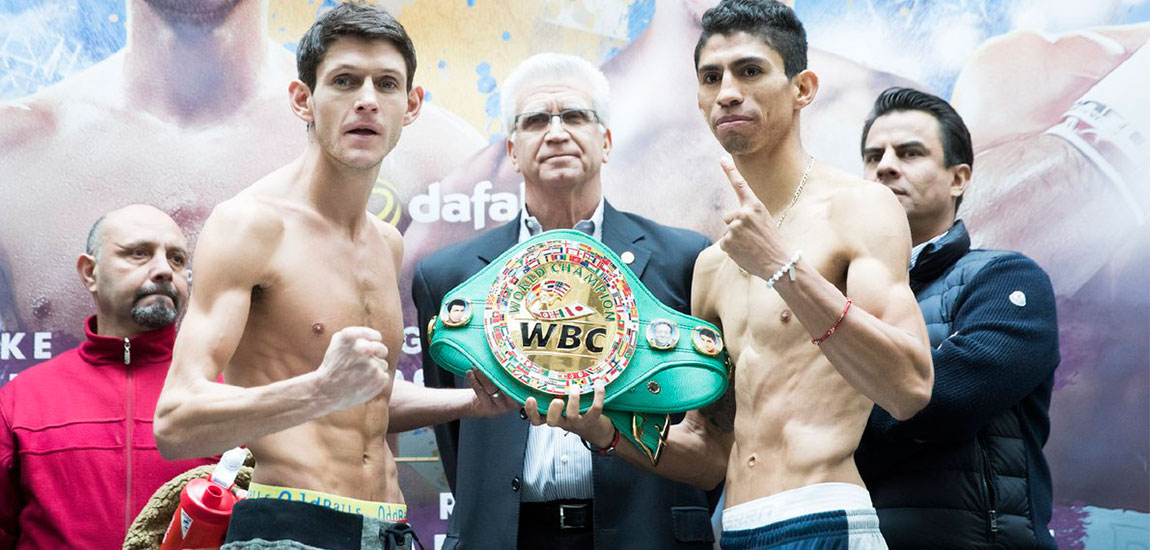 McDonnell vs Vargas Quick Weigh in Results From Hull