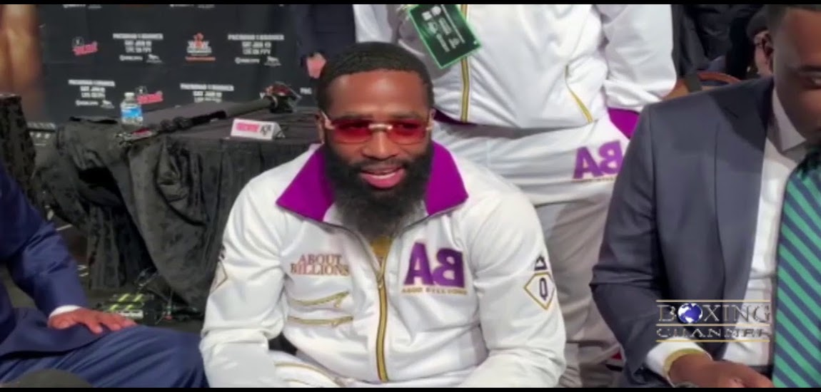 Adrien Broner Grand Arrival Ceremony Interview – Pacquiao vs Broner