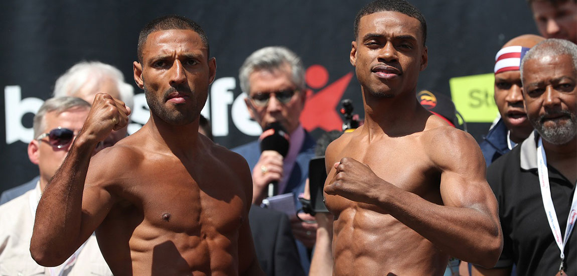 Brook vs Spence Jr Official – Weigh Ins From Sheffield