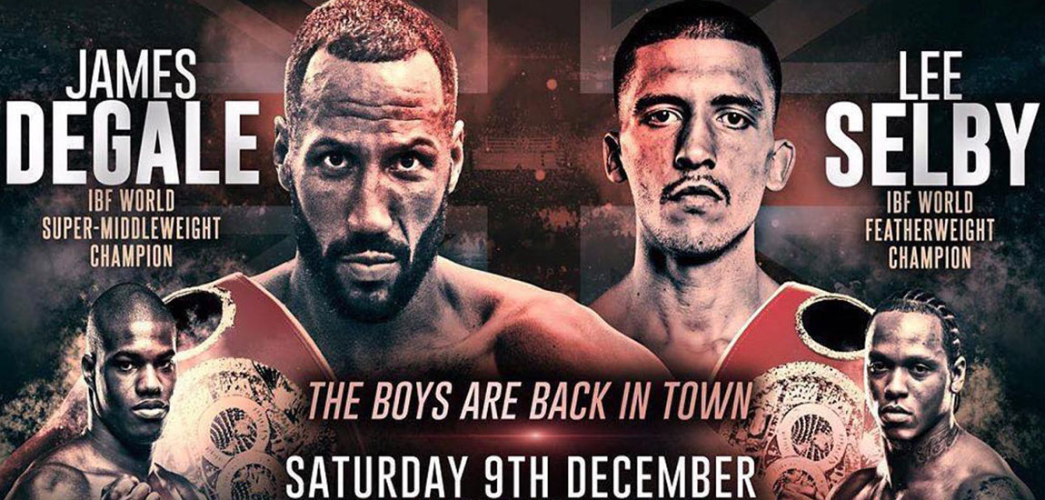 DeGale vs Truax, Selby vs Ramirez are Sat in London