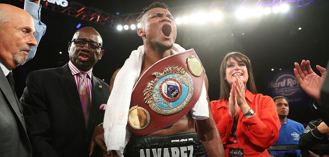 Eleider Alvarez Talks after his Huge Upset Win over Sergey Kovalev