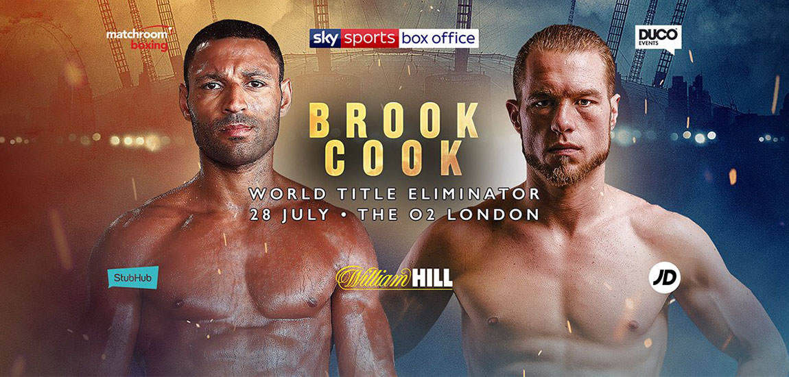 Kell Brook Leads Stellar Undercard for Whyte vs. Parker