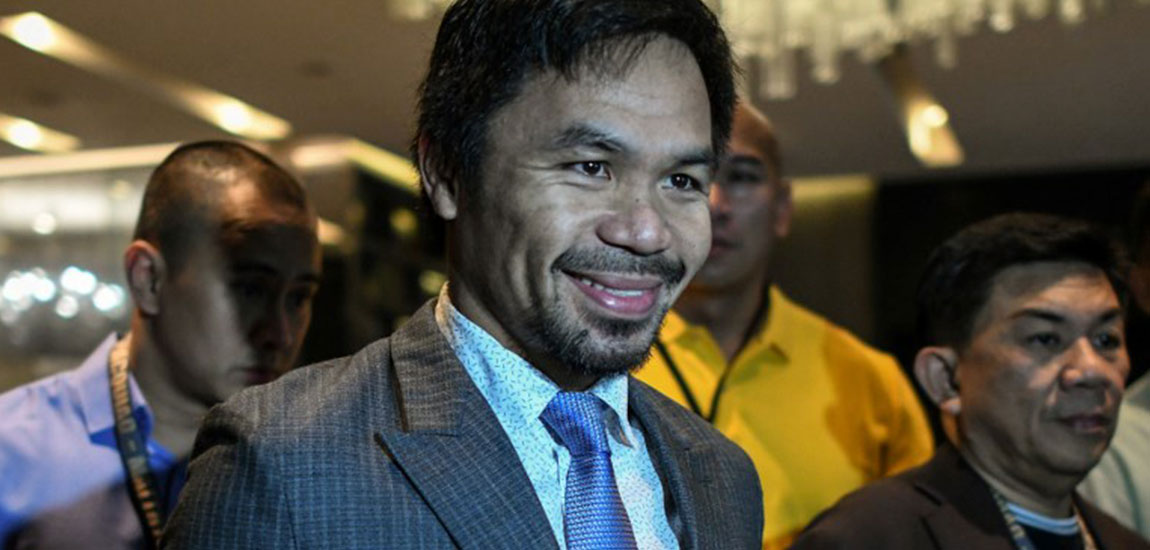 Manny Pacquiao Arrives in Malaysia Ahead of World Title Fight Against Matthysse