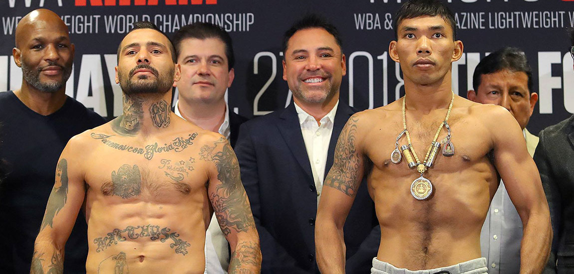 Matthysse vs Kiram Weigh-ins Livestream