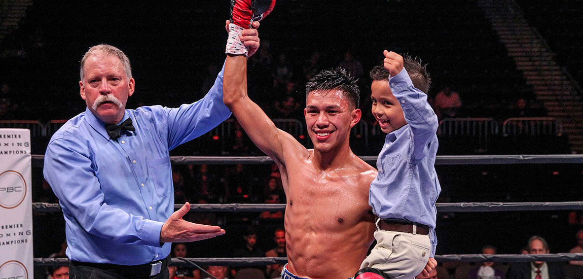"""Miguel Flores """"I Want The Rematch With Avalos"""""""