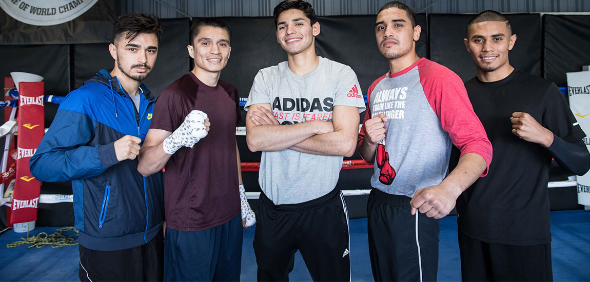 """Ryan """"Kingry"""" Garcia and Undercard Media Workout Quotes"""