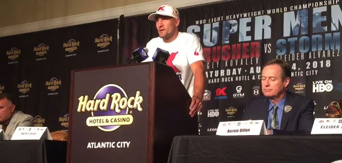 Sergey Kovalev: I Hope to Show my Best Boxing Skills on Saturday