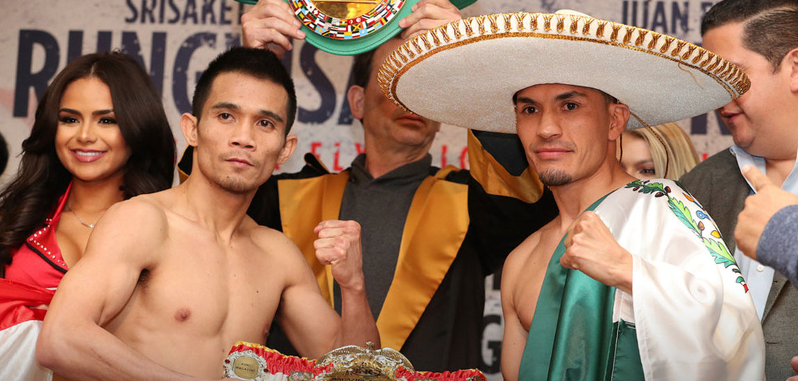 SuperFly 2 Rungvisai vs Estrada Weigh-in Highlights