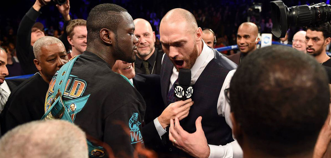 Tyson Fury against Deontay Wilder Talk with Frank Lotierzo