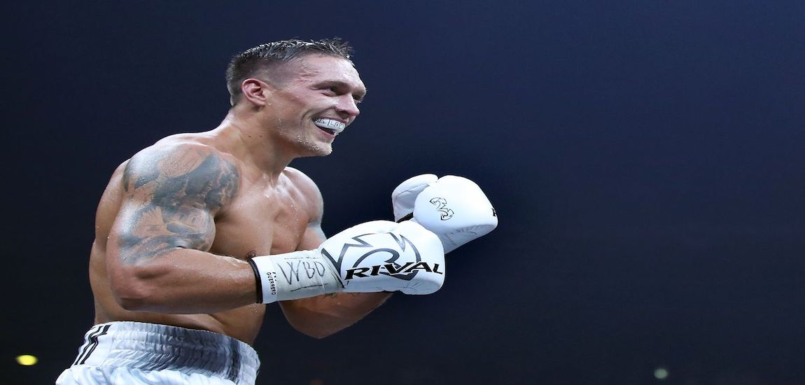 Oleksandr Usyk Post Fight Interview