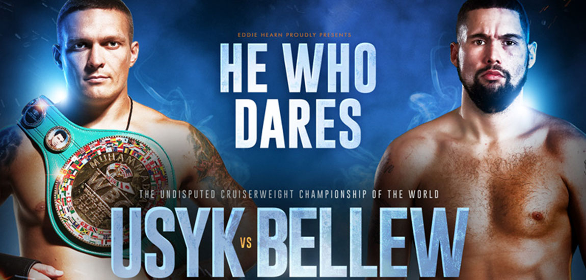 Usyk and Bellew Collide in Historic Undisputed Cruiserweight Clash