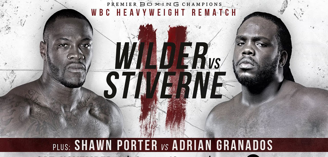 Wilder vs Stiverne 2 is Saturday Night in Brooklyn
