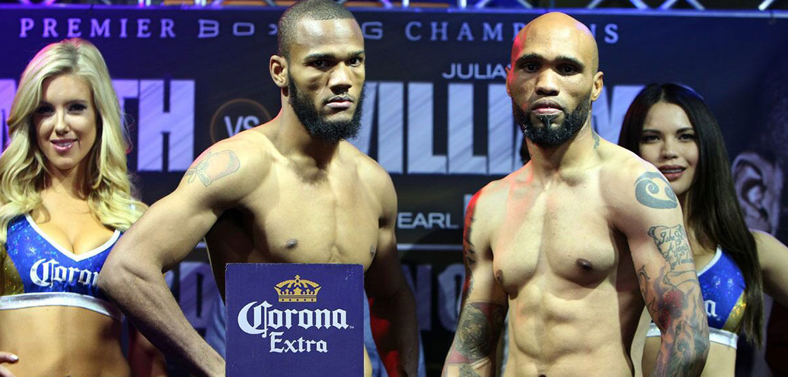 Williams vs Smith Weigh Ins Highlights