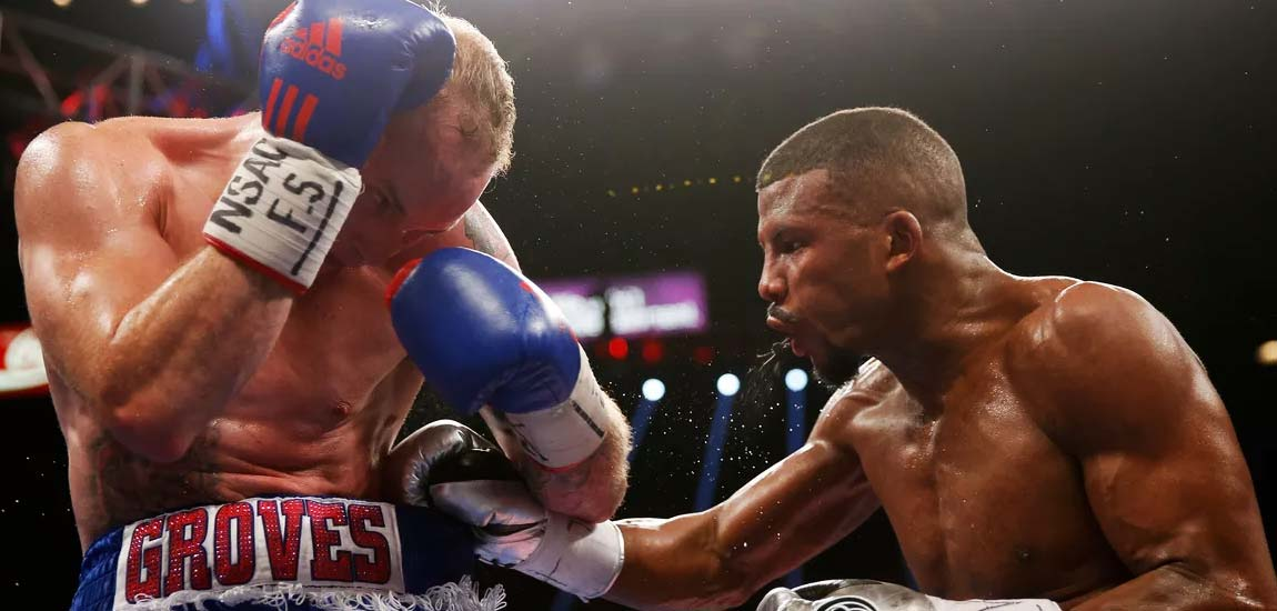 Round agónico: Badou Jack vs George Groves