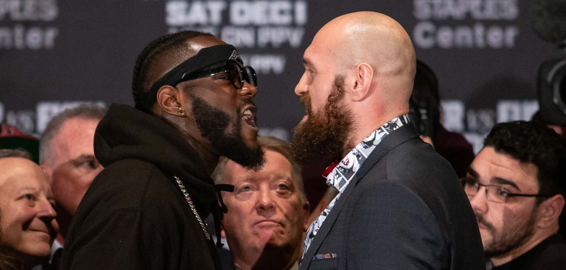 En vivo: Wilder vs Fury Conferencia de Prensa Final