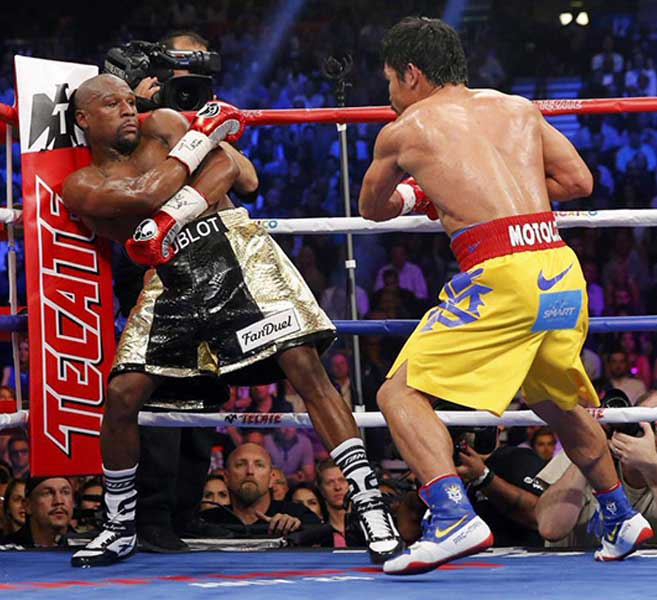 Floyd Mayweather Jr Vs Manny Pacquiao Live Round By Round Updates Boxing News Articles Videos Rankings And Results